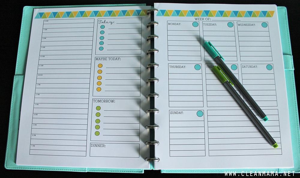November Homekeeping Society Daily and Weekly via Clean Mama