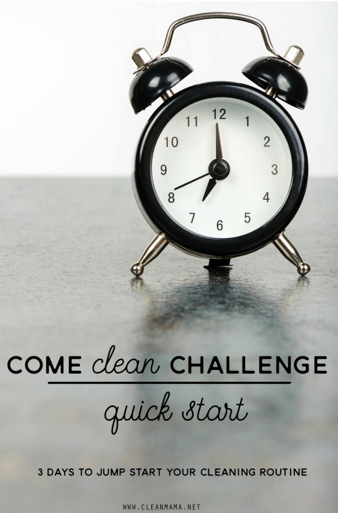 Come Clean Challenge - Quick Start