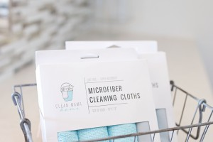 Clean Mama Home Microfiber Cloths