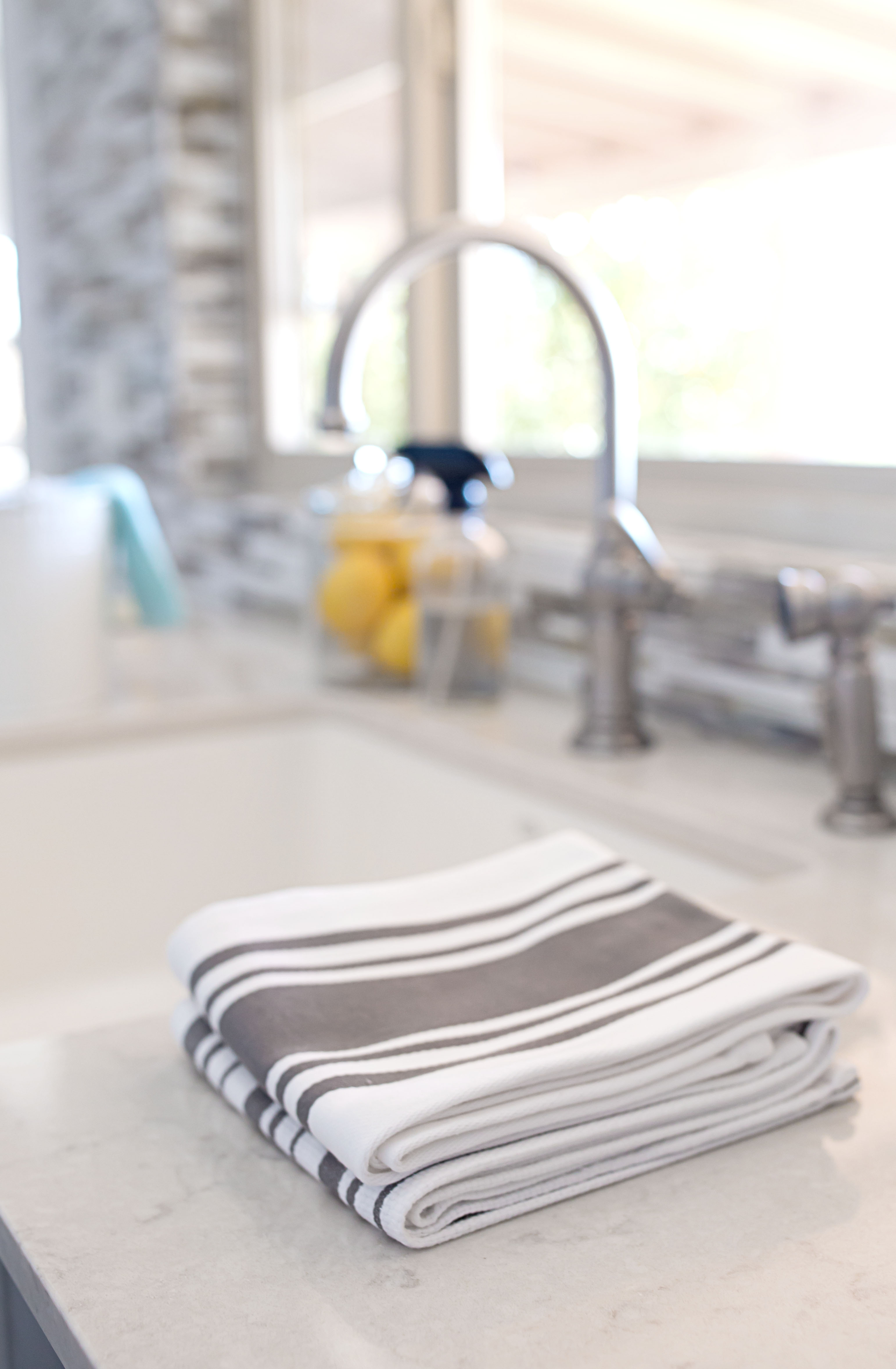 kitchen towels closeup - cmh