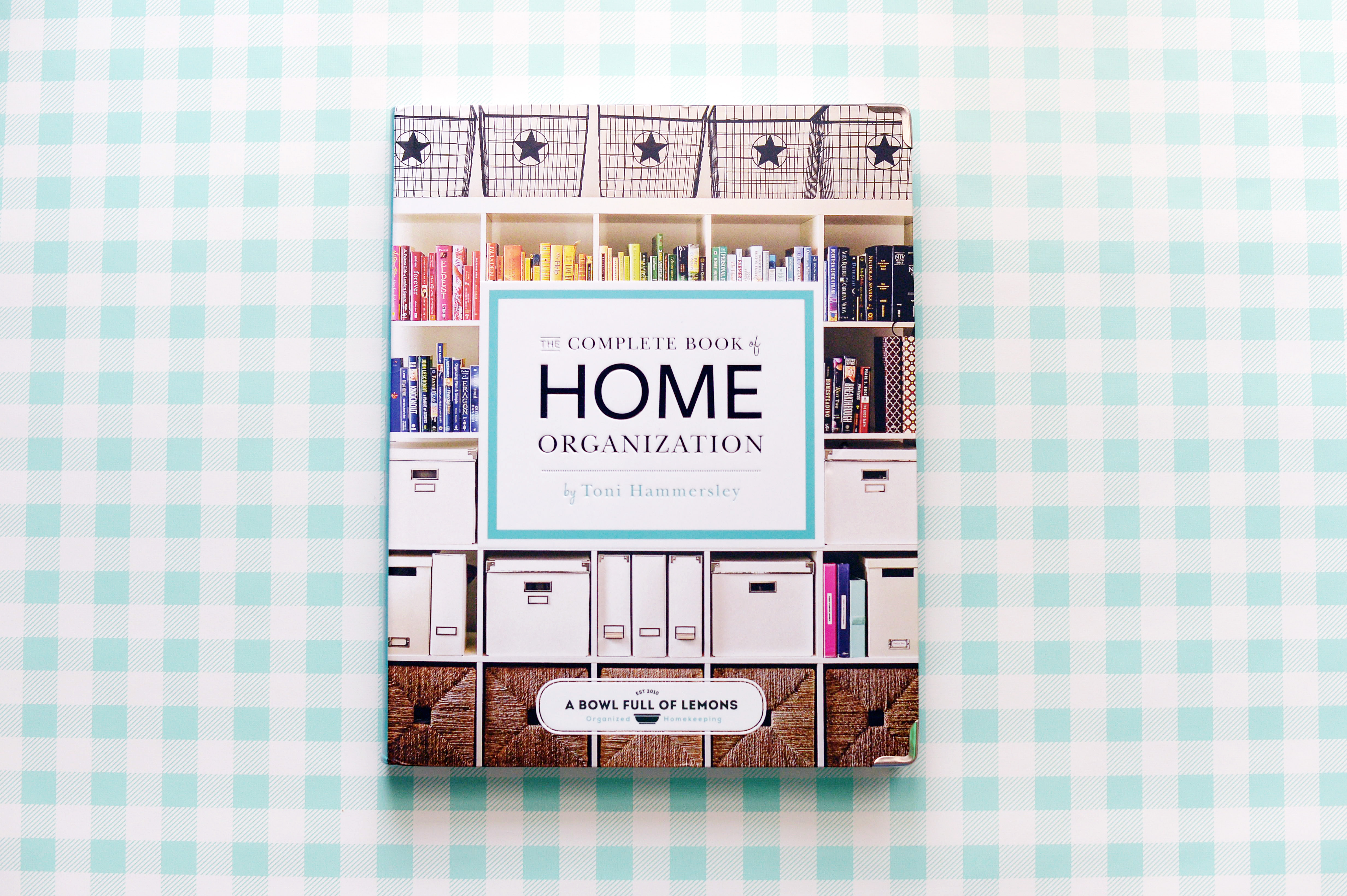 In the Kitchen with The Complete Book of Home Organization