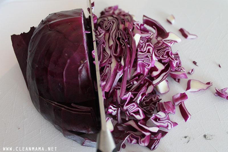 Chop Ingredients - Clean Mama