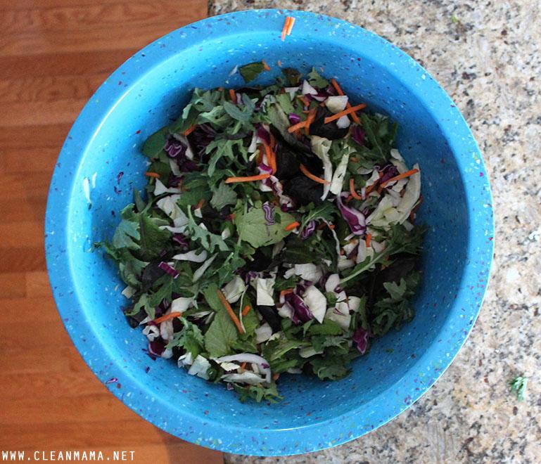 Chopped Salad - Clean Mama