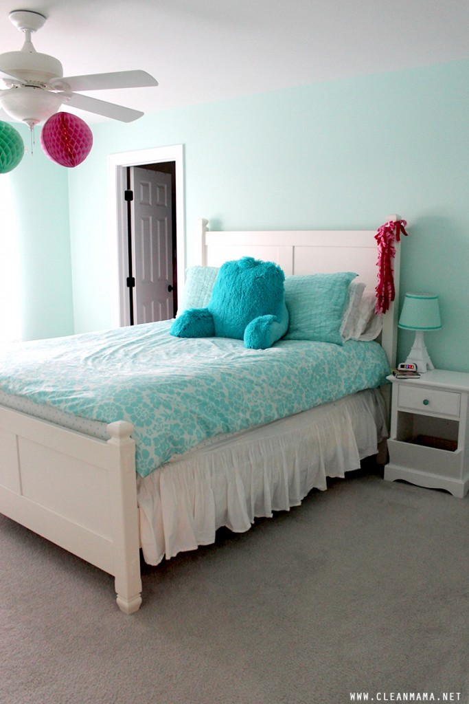 Girls Bedroom - Clean Mama