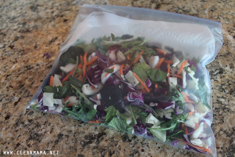 Store Chopped Salad - Clean Mama
