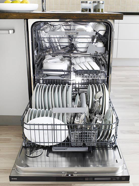 how to clean dish washer properly
