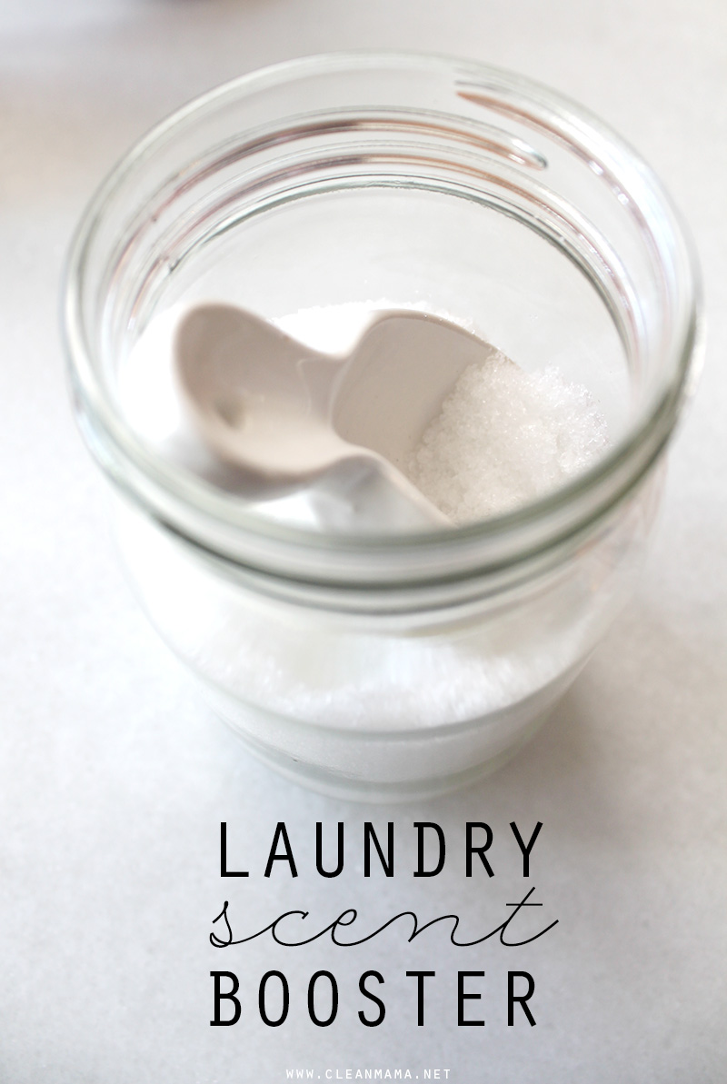 DIY Laundry Scent Booster - Clean Mama