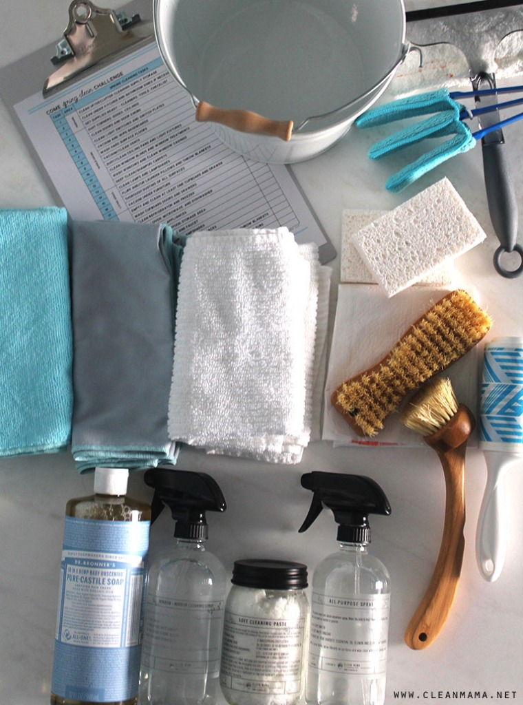Essential Tools for Spring Cleaning - simple solutions - Clean Mama