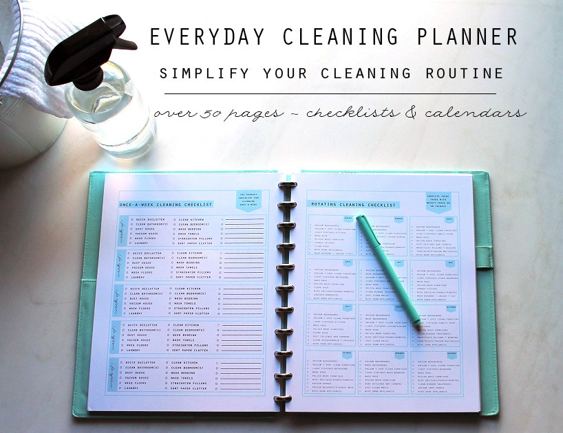 Everyday Cleaning Planner - Clean Mama