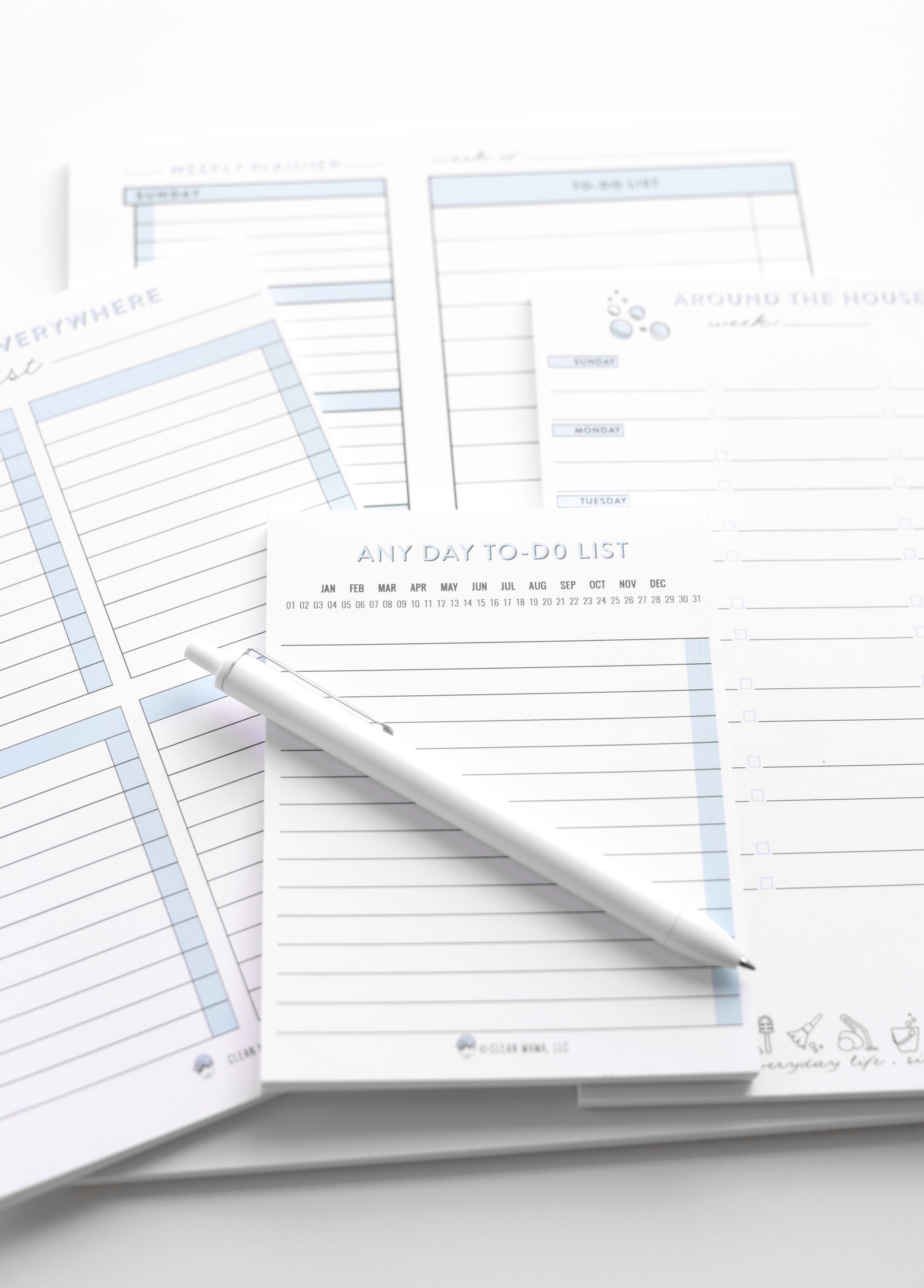 4 pack of Notepads - Clean Mama Home