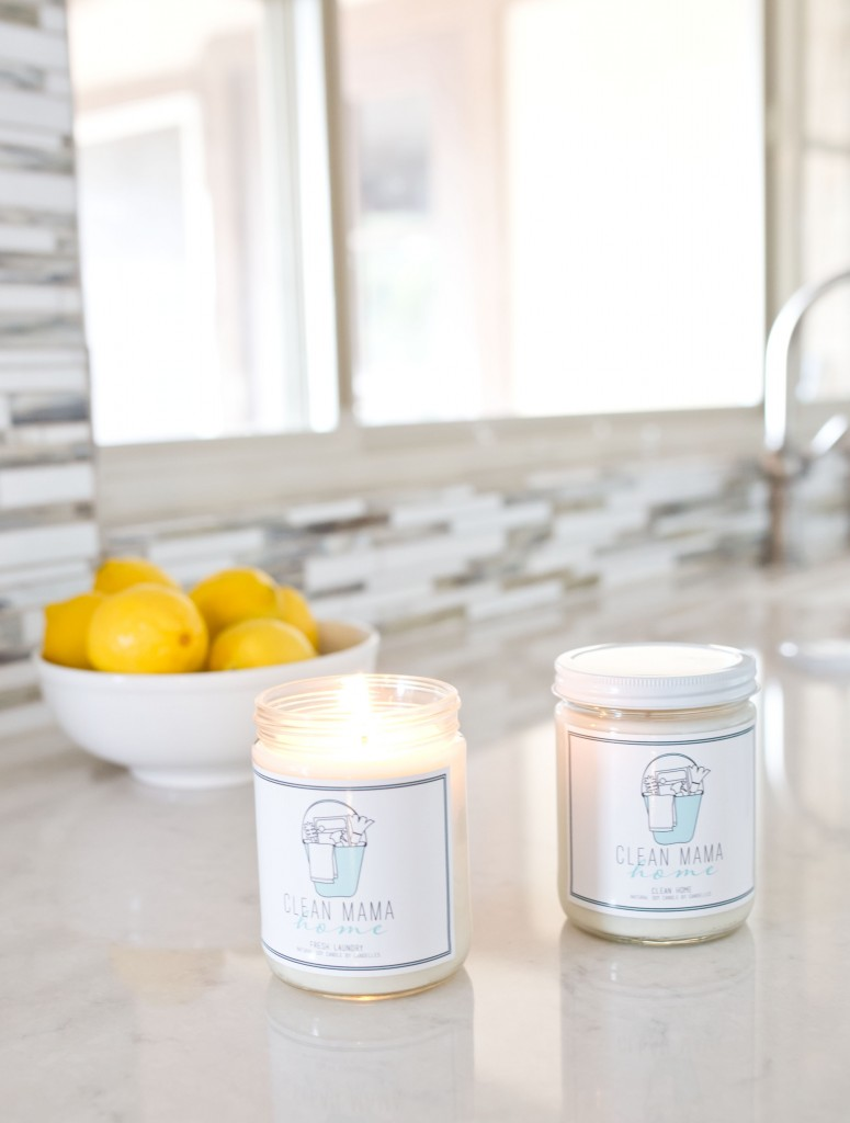 Clean Home and Fresh Laundry Candles - Clean Mama Home