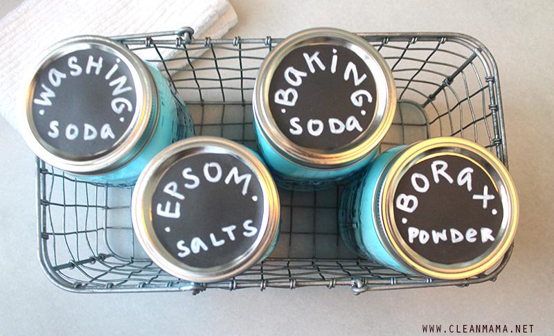 DIY Ingredient Storage - Clean Mama