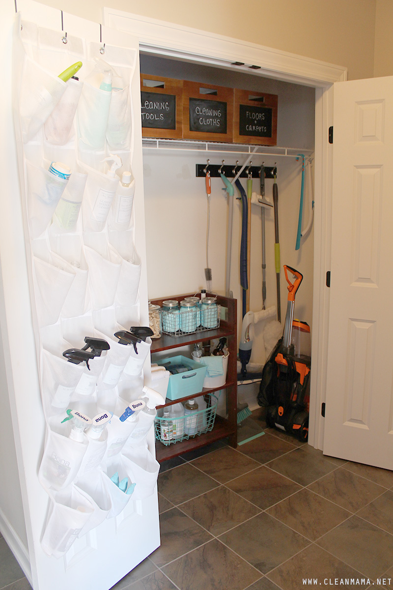 Full Cleaning Closet - Clean Mama