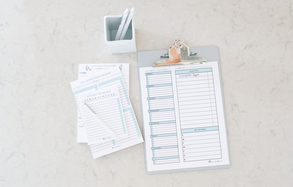 Notepads - Clean Mama Home