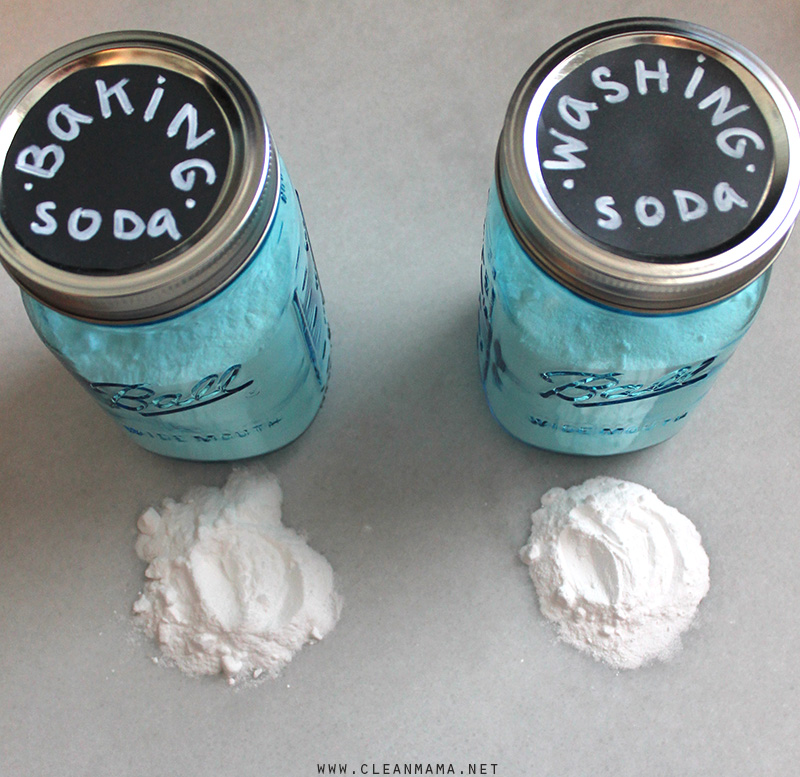 The Difference Between Baking and Washing Soda - Clean Mama