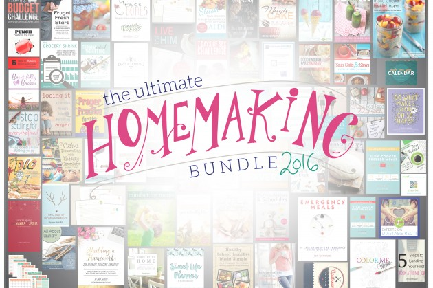 The Perfect Tool for Your Home : The Ultimate Homemaking Bundle