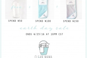Earth Day Sale 1- Clean Mama Home