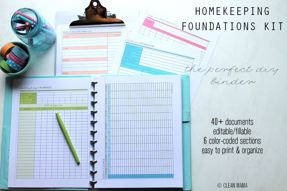 Homekeeping Foundations Kit - main - Clean Mama copy