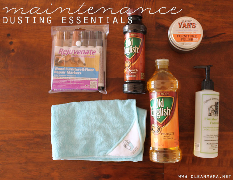 Maintenance Dusting Essentials - Clean Mama