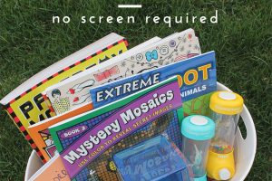 Summer Boredom Busters - No Screen Required - Clean Mama