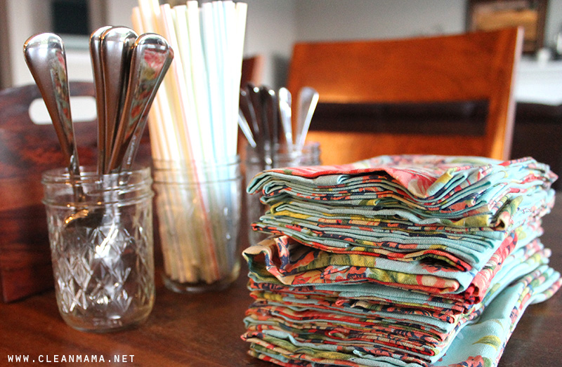 Supplies for Cutlery Caddy - Clean Mama