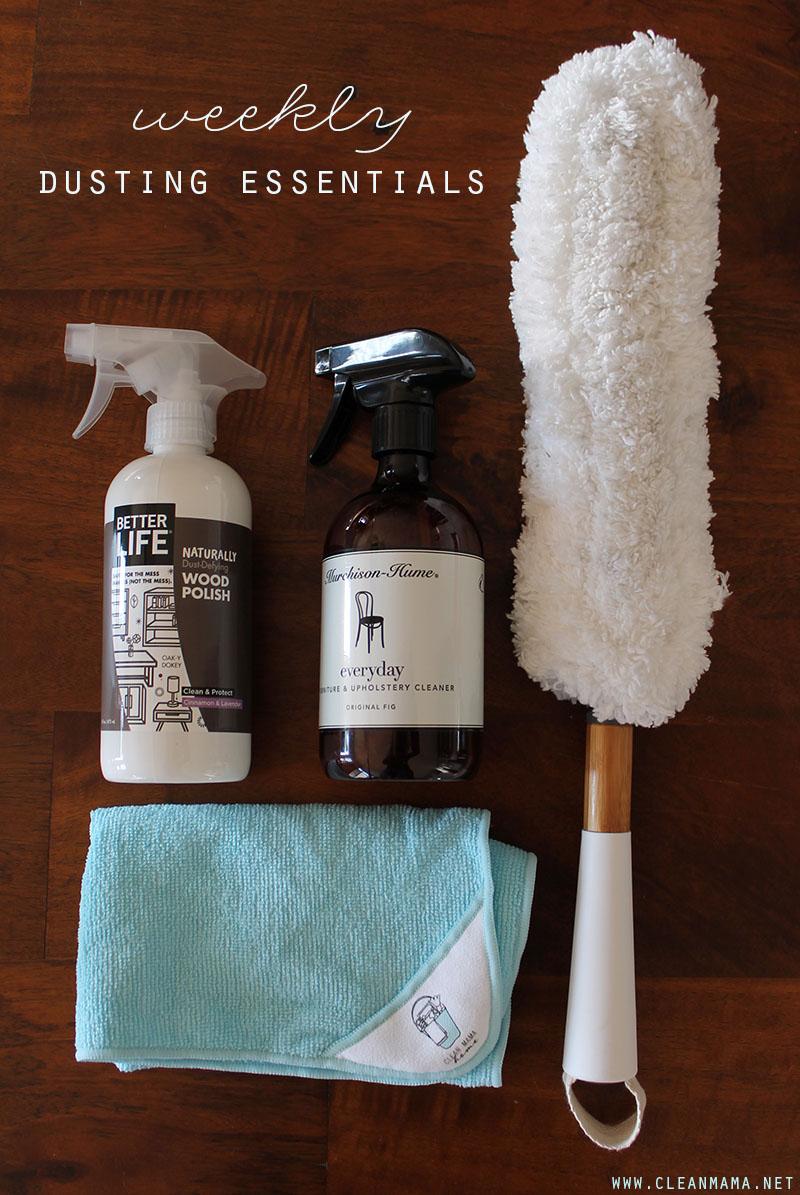 Weekly Dusting Essentials - Clean Mama