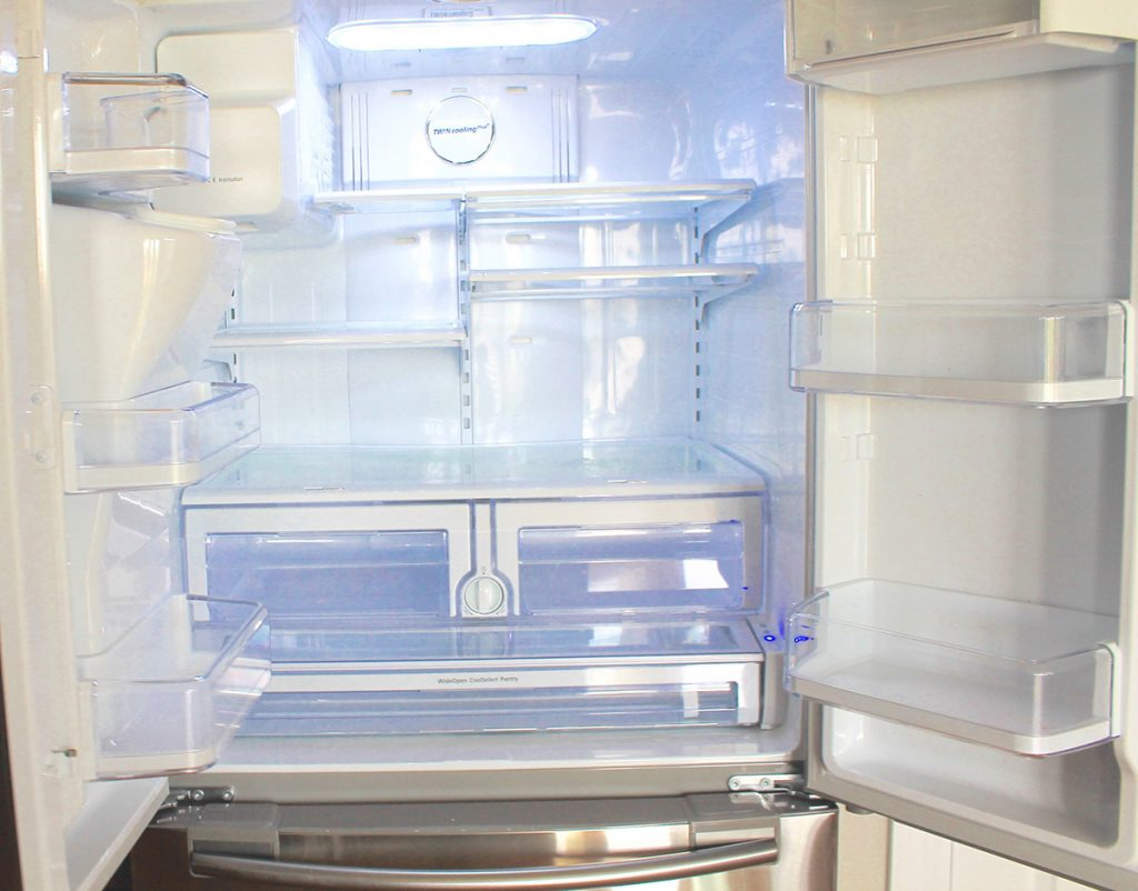 12 - Remove the Contents of Refrigerator