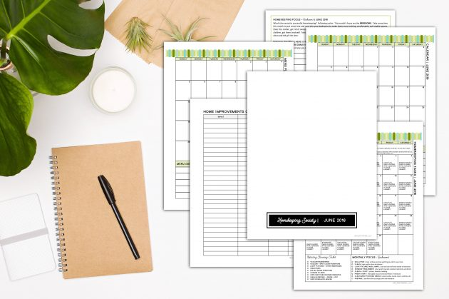 Get Organized with Homekeeping Society | June Essentials