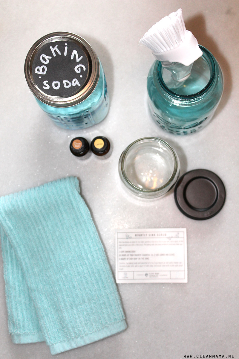 DIY Nightly Sink Scrub - Clean Mama