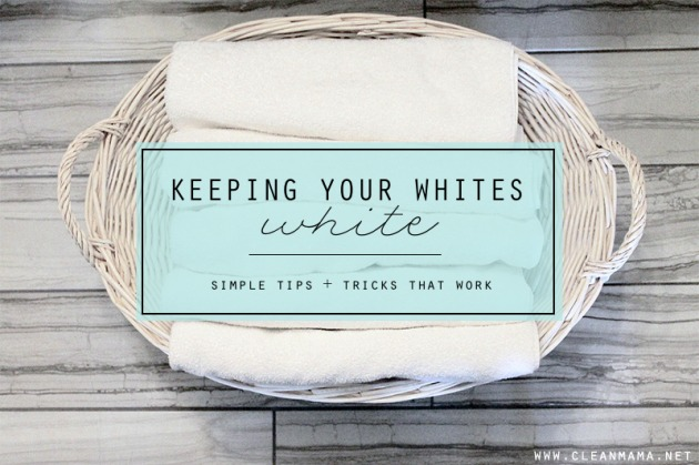 Keeping Your Whites White