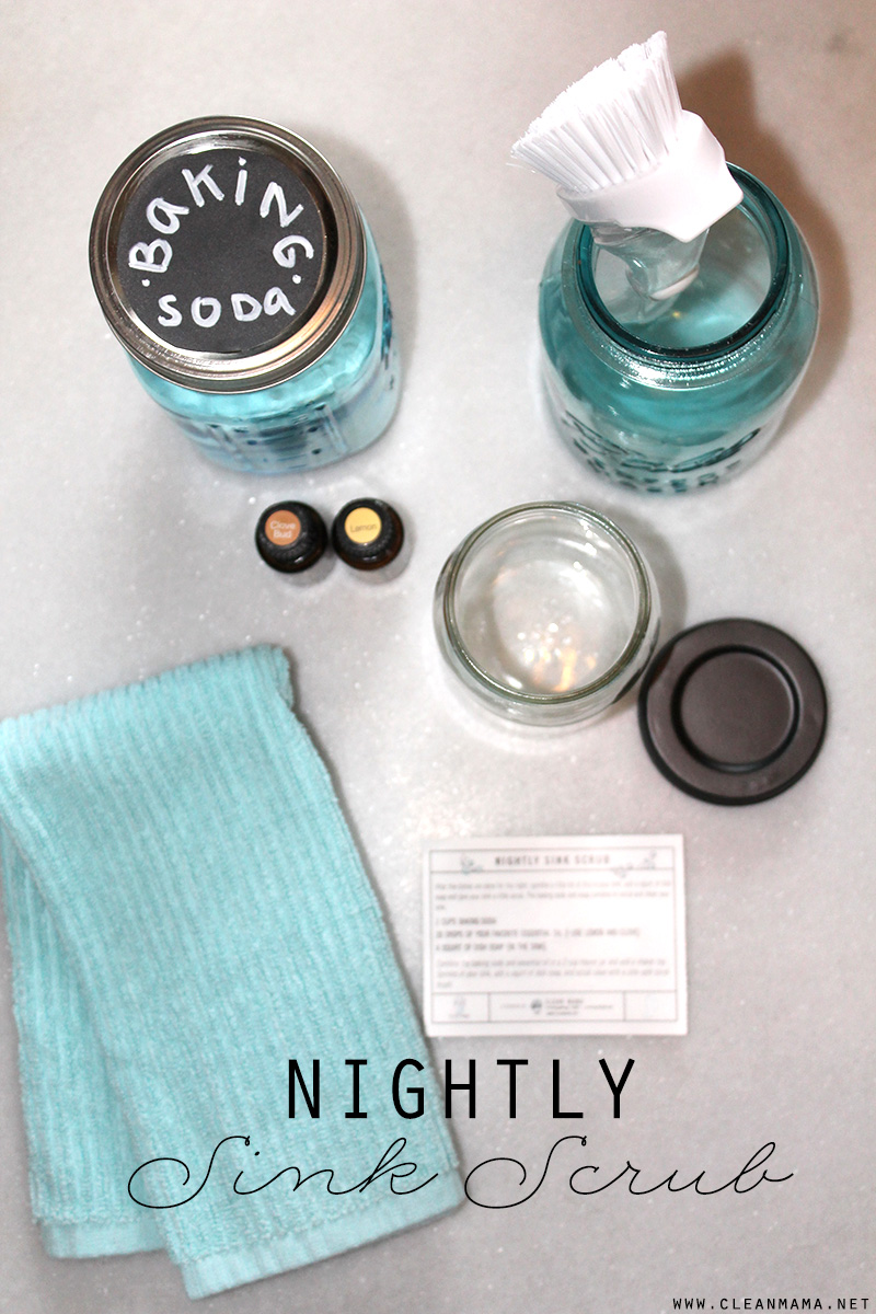 Nightly Sink Scrub - Clean Mama