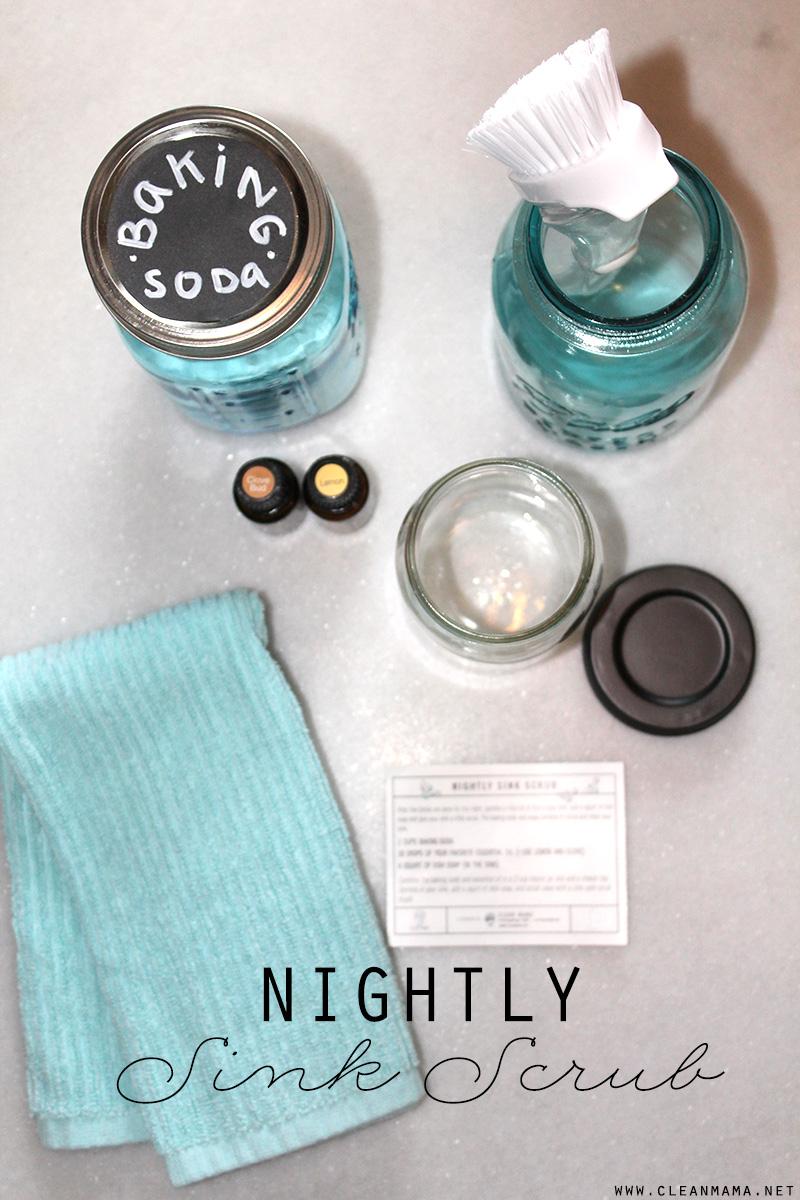 Nightly Sink Scrub - Clean Mama