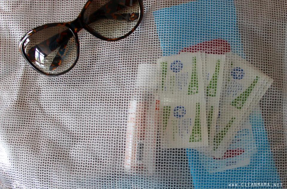 Put Supplies in a Bag - Clean Mama