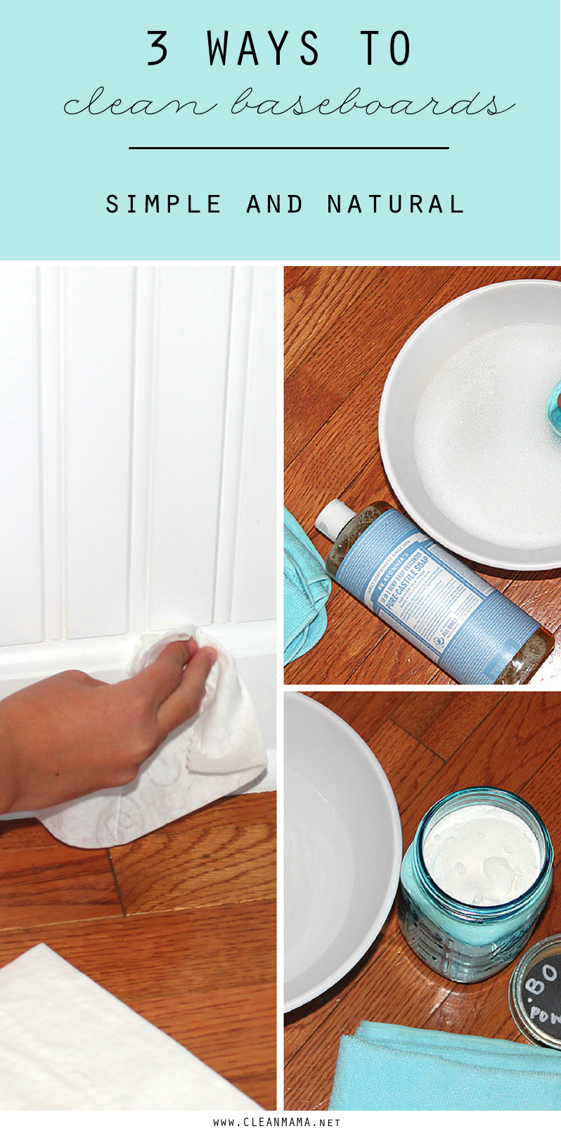 3 Ways to Clean Baseboards