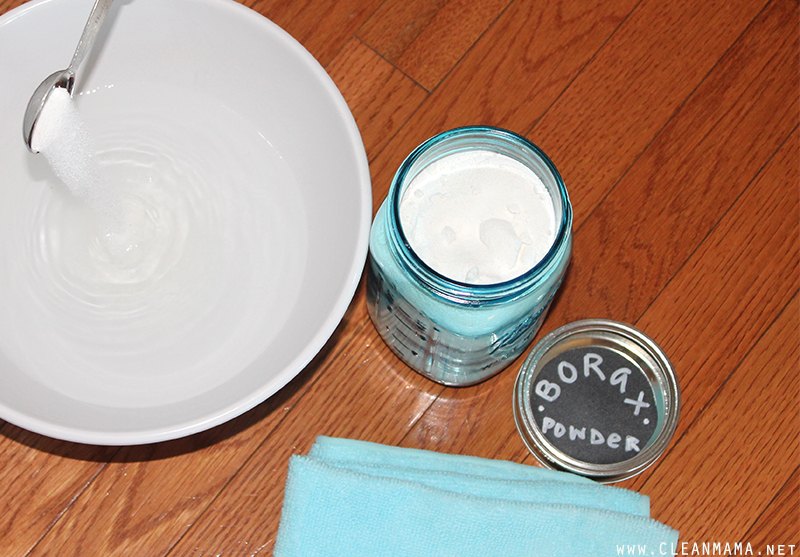 Clean Baseboards with Borax - Clean Mama