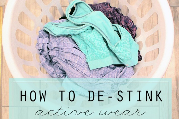 How to De-Stink Active Wear
