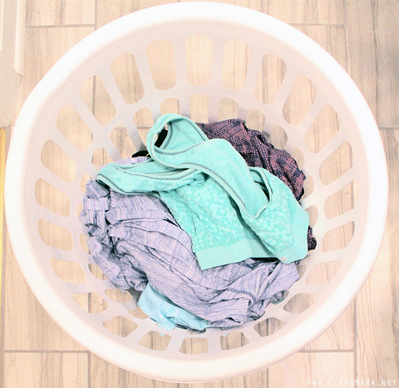 How to De-Stink ActiveWear - Clean Mama