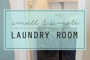 LAUNDRY ROOM TOUR - Clean Mama