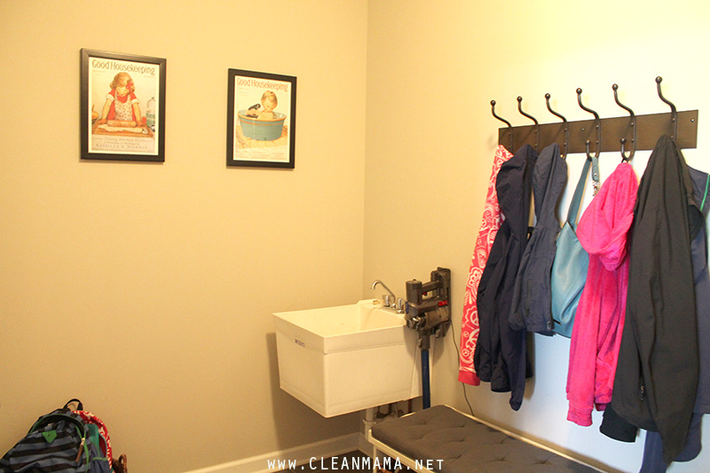 Back Wall - Mud Room - Clean Mama