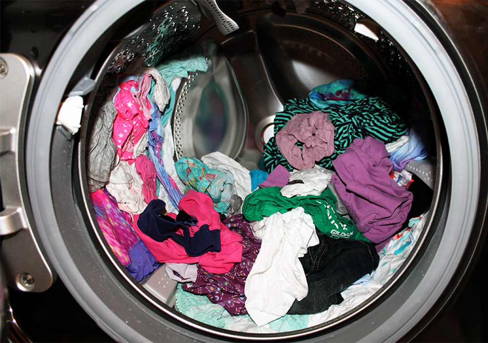 Full Washing Machine - Clean Mama