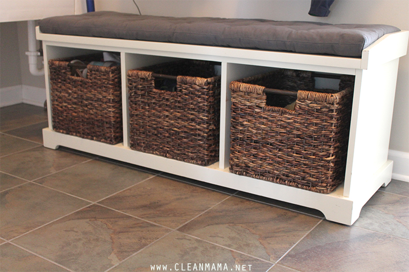 Mud Room Bench - Clean Mama