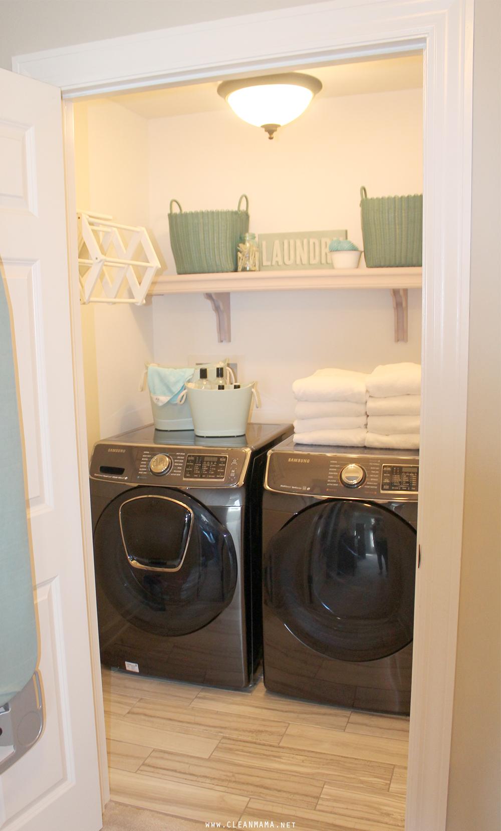Samsung Washer + Dryer - Clean Mama