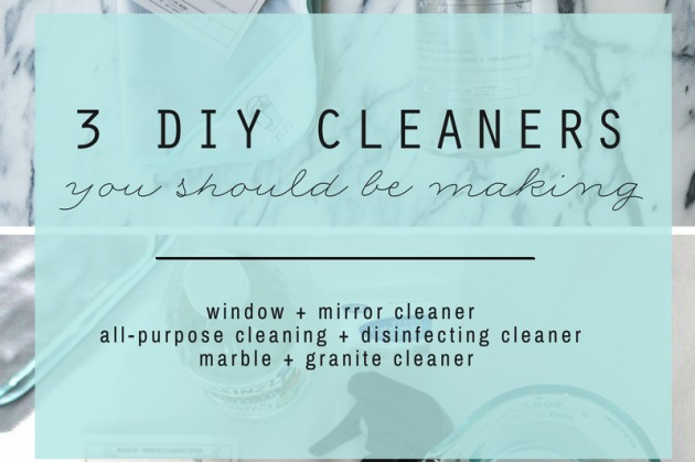 3 DIY Cleaners You Should be Making