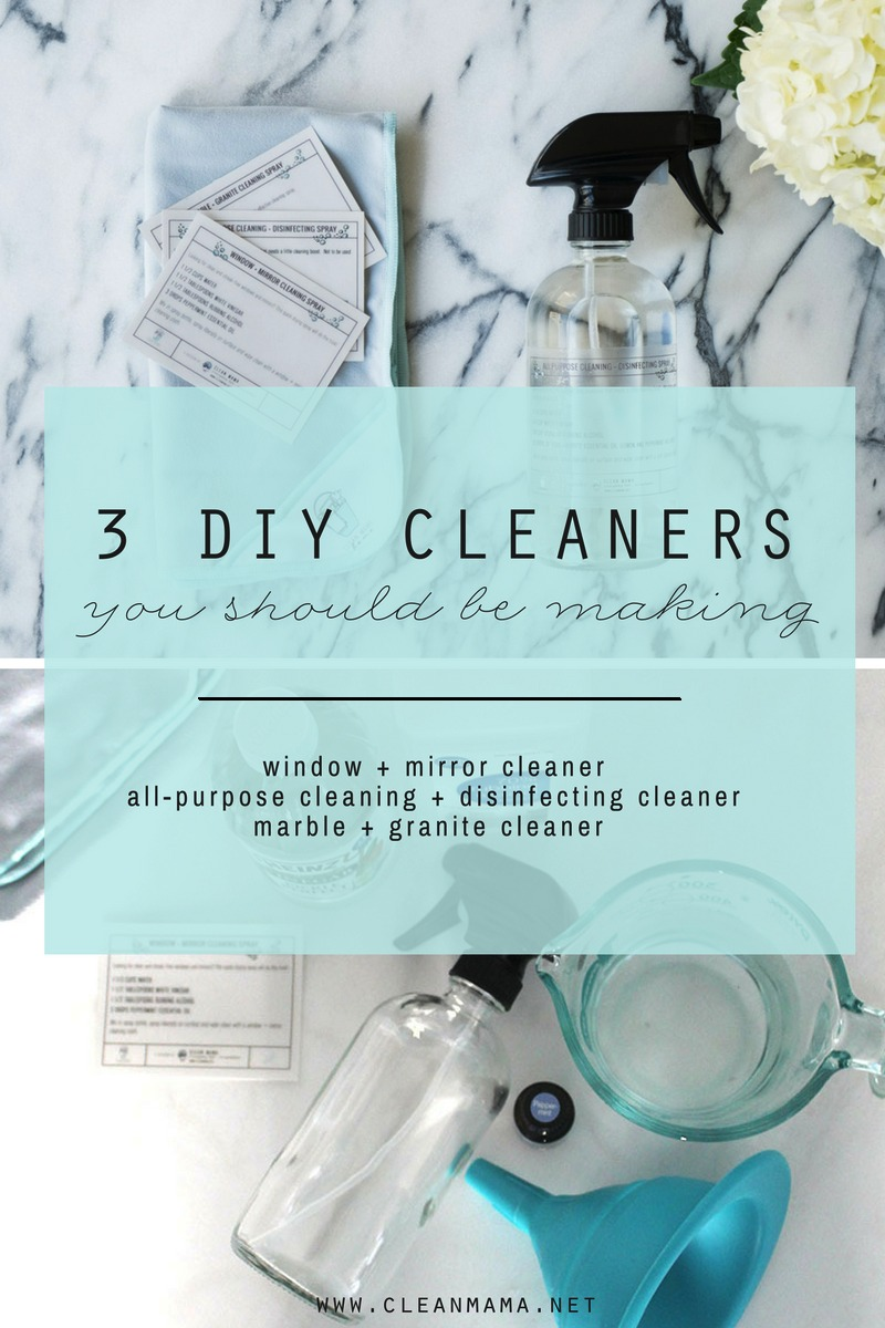 3 DIY Cleaners You Should Be Making - Clean Mama