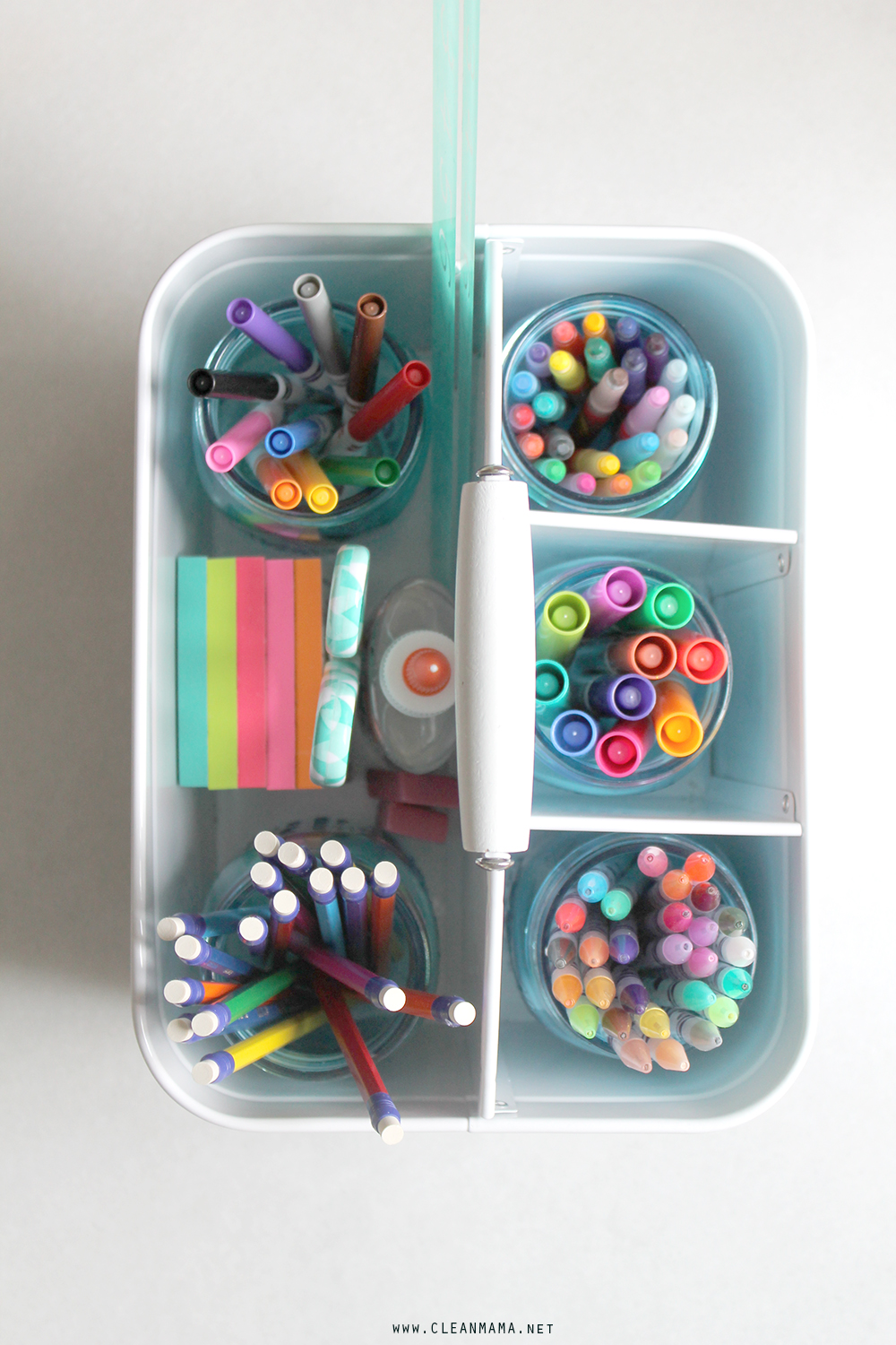 Homework Caddy - Clean Mama