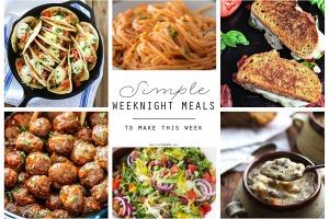 Simple Weeknight Meals to Make this Week - Clean Mama