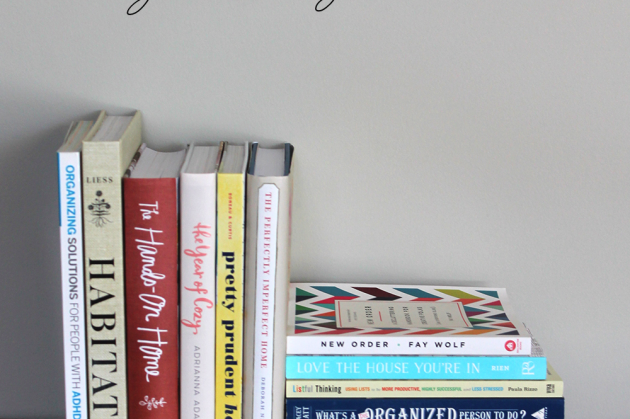 What's on My Book Stack : 13 Homekeeping Books to Inspire Organization