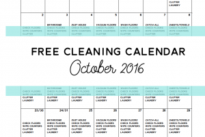 free-cleaning-calendar-october-2016-clean-mama