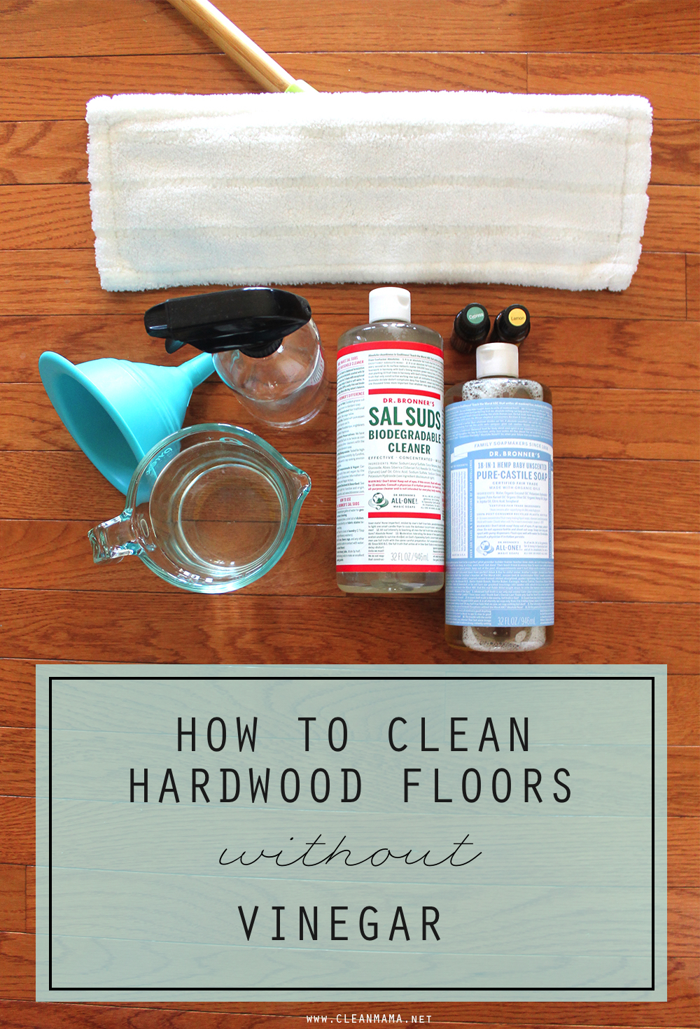 Clean Hardwood Floors WITHOUT Vinegar