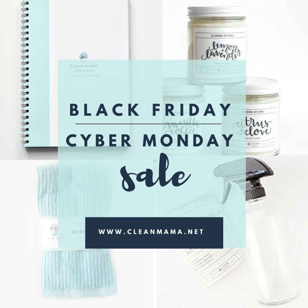 clean-mama-black-friday-cyber-monday-sale